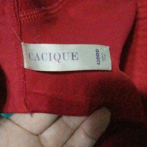 Cacique Intimates & Sleepwear - 42DDD Cacique bra red/black